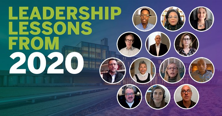 Leadership lessons from 2020