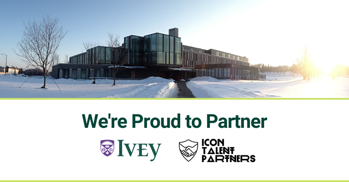 We're proud to partner: Ivey and ICON Talent Partners
